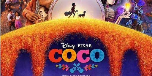 """Proyección de película """"Coco"""""""