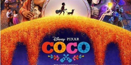 "Proyección de película ""Coco"" entradas"