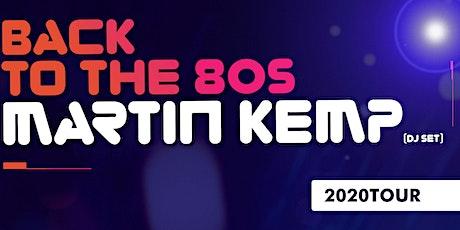 Martin Kemp - Wicksteed Park! - www.easyticketing.co.uk tickets
