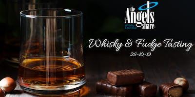 Whisky & Fudge Tasting Event - Angels Share Inverness
