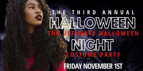 3rd Annual Halloween Night - The Ultimate  Halloween Costume Party tickets