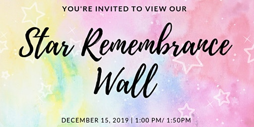 2 Wish Upon A Star - Star Remembrance Wall viewing