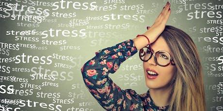 Stress och utmattning – Introduktion till hantering och lindring tickets