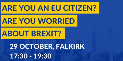Brexit: EU Settlement Scheme Information Session in Falkirk