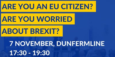 Brexit: EU Settlement Scheme Information Session in Dunfermline