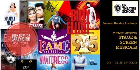 'Westend & Broadway Stage to Screen' Themed Holiday Academy tickets