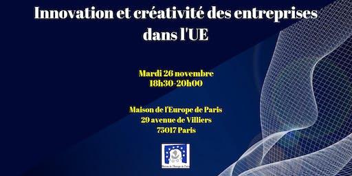 Innovation et créativité des entreprises dans l'UE