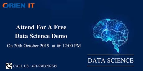Register for Free High Informative Data Science workshop by Industry Expert tickets