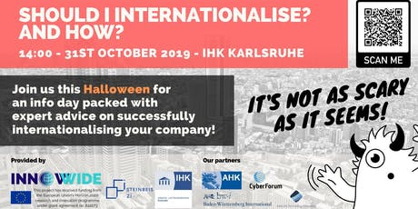 Infoday: Should I internationalise? And How? billets
