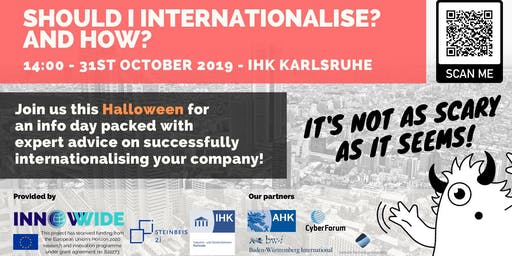 Infoday: Should I internationalise? And How?