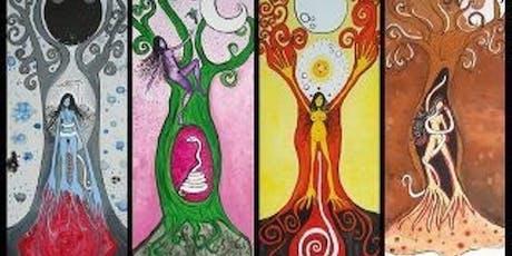 Talleres para mujeres. Ciclo menstrual, naturaleza cíclica sagrada. entradas