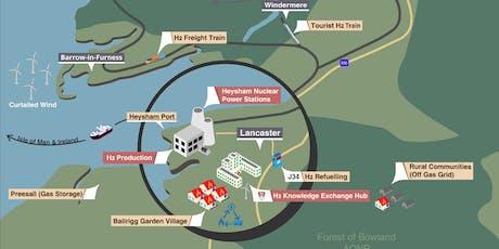 Taking Lithium to London and Hydrogen to Heysham tickets