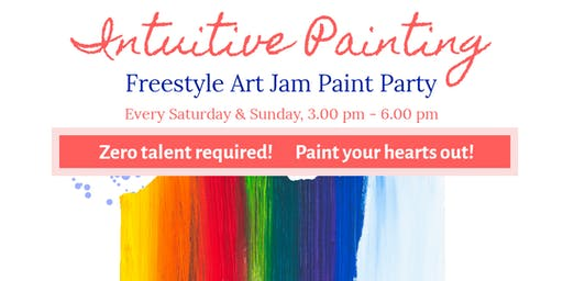 Intuitive Painting Art Jam