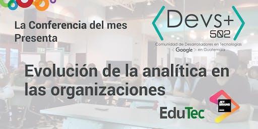 Evolución de la analítica en las organizaciones