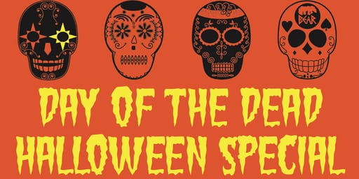 HALLOWEEN SPECIAL - DAY OF THE DEAD TOTE BAG