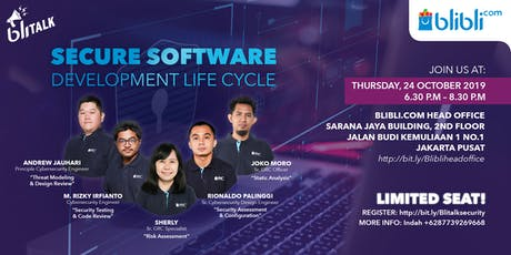 Secure Software Development Life Cycle tickets