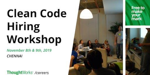 Clean Code - Hands-on Hiring Workshop