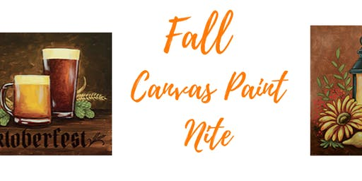 Fall Canvas Paint Nite