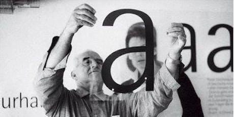 """Diálogo """"La perversidad de la belleza"""". El legado de Otl Aicher. Madrid. entradas"""