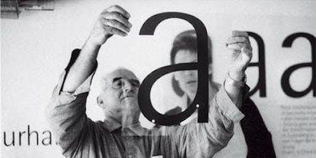 """Diálogo """"La perversidad de la belleza"""". El legado de Otl Aicher. Barcelona. entradas"""