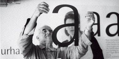 """Diálogo """"La perversidad de la belleza"""". El legado de Otl Aicher. Barcelona."""