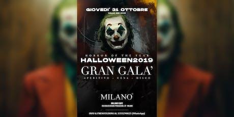 Gran Galà di Halloween 2019  ✆ 3355290025 biglietti