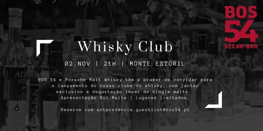 Whisky Club BOS 54