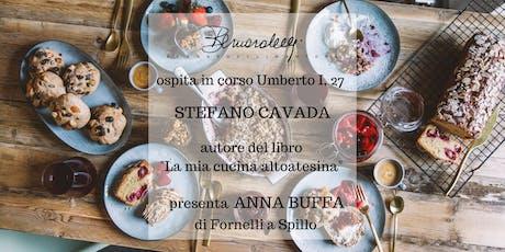 """Stefano Cavada presenta il libro """"La mia Cucina Altoatesina"""" biglietti"""