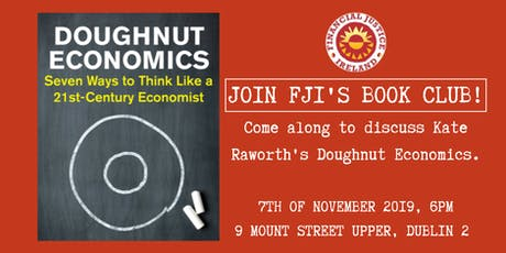 FJI November Bookclub: Doughnut Economics tickets