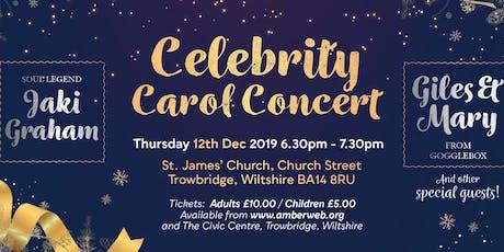 Amber's Celebrity Carol Concert tickets