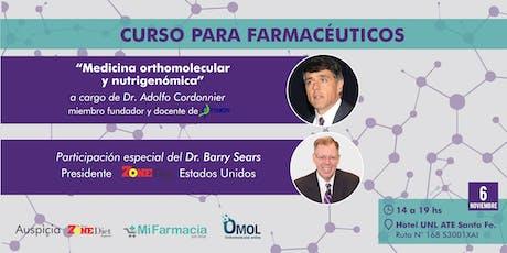 Medicina orthomolecular y nutrigenómica a cargo del Dr. Adolfo Cordonnier entradas