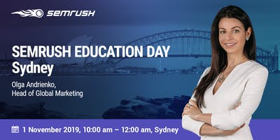 SEMrush Education Day – Sydney