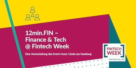 12min.FIN - Finance & Tech @ FINTECH WEEK Tickets