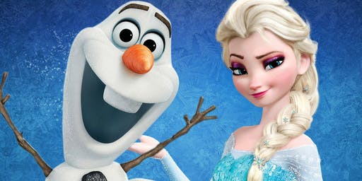 Frozen Lunch with Elsa & Olaf at Brew 74