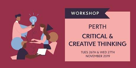 Critical & Creative Thinking (Future Shapers Facilitator Training) - PERTH tickets