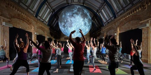 Yoga Under the Moon