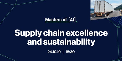 Masters of AI   Supply chain excellence and sustainability