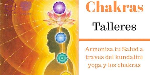 Talleres de auto conocimiento a través de tus chakras