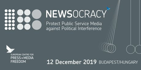 NEWSOCRACY | Protect Public Service Media against Political Interference tickets