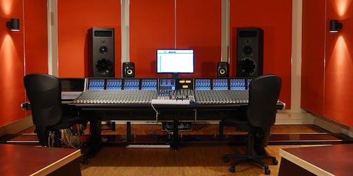 Schnupper-Workshop am Open Day: Einführung in die Tonproduktion im SSL Studio