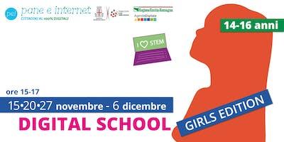 Digital School: corso di avvicinamento al coding per ragazze 14-16 anni