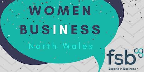 FSB Women in Business North Wales  tickets