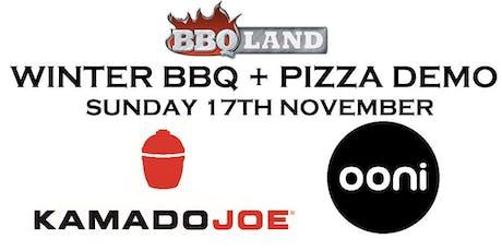 Kamado Joe BBQ & Ooni Pizza Ovens Demo Day tickets