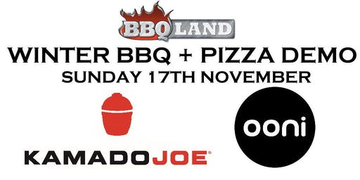 Kamado Joe BBQ & Ooni Pizza Ovens Demo Day