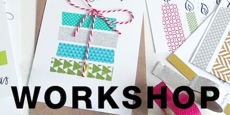 Art Workshop-Festive Greeting Card Lettering and Decorating with Gabby Kere tickets