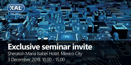 KAL ATM Software - exclusive seminar invite