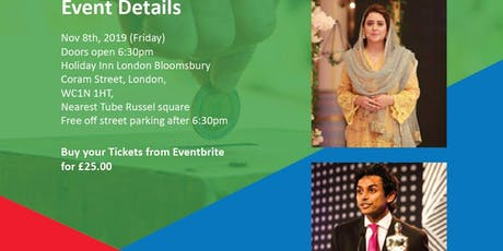 An evening with Rabia Anum & Muhammad Junaid tickets