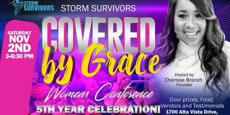 """Storm Survors """"Covered by Grace"""" Womens Conference  tickets"""