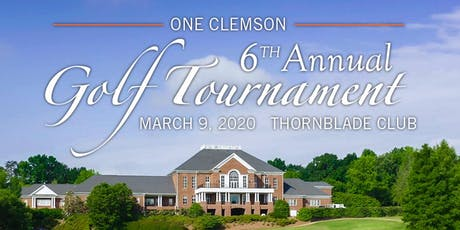 ONE Clemson Golf Tournament - Team of Four Golfers tickets
