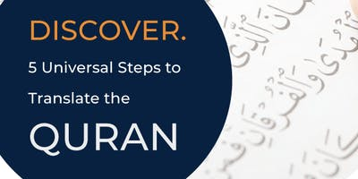 Adelaide Discover 5 Universal Steps to Translate the Quran